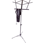 Hamilton Folding Music Stand (2 pc), Black