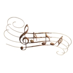 Large Music Notes Wall Decor