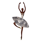 Dancer in White Wall Decor