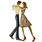 Dancing Duo Wall Decor