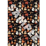 Gift Wrap, Guitar Collage
