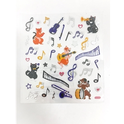 Stickers, Musical Cats and Dogs